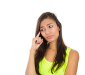 Serious daydreaming — Stock Photo