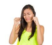 Woman crying — Stock Photo