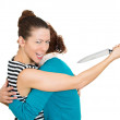 Back-stabber — Stock Photo