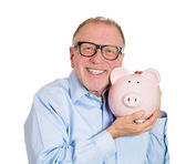 Savings in old age — Stockfoto