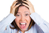 Stress, frustration — Stock Photo