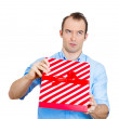 Bad gift idea — Stock Photo