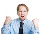 Angry man — Stock Photo