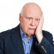 Depressed older man — Stock Photo