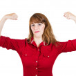 Strong woman — Stock Photo #44819139