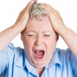 Frustration, stress — Stock Photo