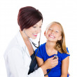 Pediatric visit — Stock Photo