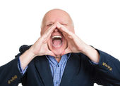 Yelling man — Stock Photo