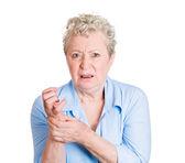 Hand pain — Stock Photo
