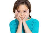 Depressed woman — Zdjęcie stockowe