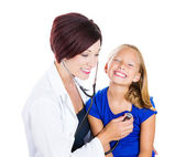 Pediatric visit — Stockfoto