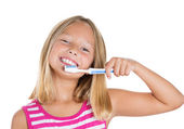 Good oral hygiene — Stock Photo