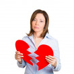 Heart broken woman — Stock Photo #45252559