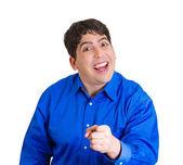 Happy excited man — Stock Photo