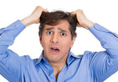 Frustrated man — Stock Photo