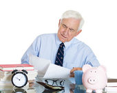 Senior accountant — Stock Photo
