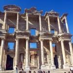 Efeso greco antico rovine in anatolia in Turchia — Foto Stock #32336109