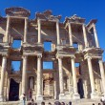 Éfeso ruinas de griego antiguo en anatolia Turquía — Foto de Stock   #32336109