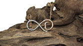 Infinity necklace — Stok fotoğraf