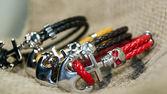 Skull bracelets — Stock Photo