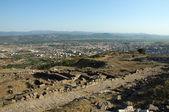 Antiga cidade grega de pérgamo — Foto Stock