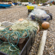 Fishing nets and associated paraphernalia — Stock Photo #36792115