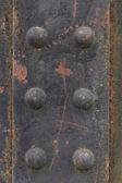 Old rivets — Stock fotografie
