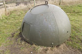 Allan Williams Turret, WWII anti invasion defense structure. — Stock Photo