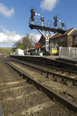 Grosmont Station, North Yorkshire Moors Railway — Stock Photo