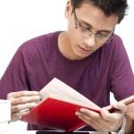 Student Reading Book — Stock Photo #29816919