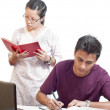 Highschool Student Doing Study — Stock Photo