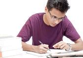Young Student Studying — Stock Photo