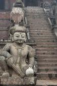 Staircase in Nyatapole Temple — Stock Photo