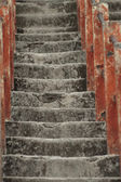 Old grunge stairs — Stock Photo