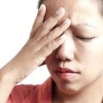 Sad Woman Closeup — Stock Photo
