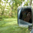 Clicking in the Moving Vehicle. — Stock Photo