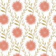 Seamless Flower Pattern In Country Style — Stock Vector #29670081
