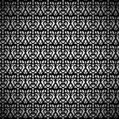 Black Eyelet Fabric Pattern — Stock Vector