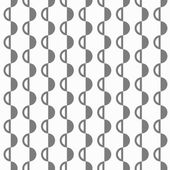 Abstract black and white pattern with semispheres — Stock Vector