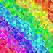 Abstract spectrum background from triangles — Stock Vector