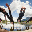 ITU World CUP, Triathlon Kitzbuehel — Stock Photo
