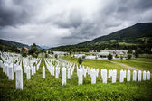 Memorial Centre Potocari, Screbrenica — Stock Photo