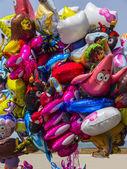 Masse de ballons colorés — Photo