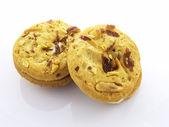 Erdnuss sandwich cookies — Stockfoto