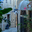 Street in Jaffa Tel Aviv Israel — Stock Photo