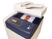 Wielofunkcyjna kolorowa drukarka — Zdjęcie stockowe