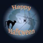 Vector illustration for Halloween — Stock Vector
