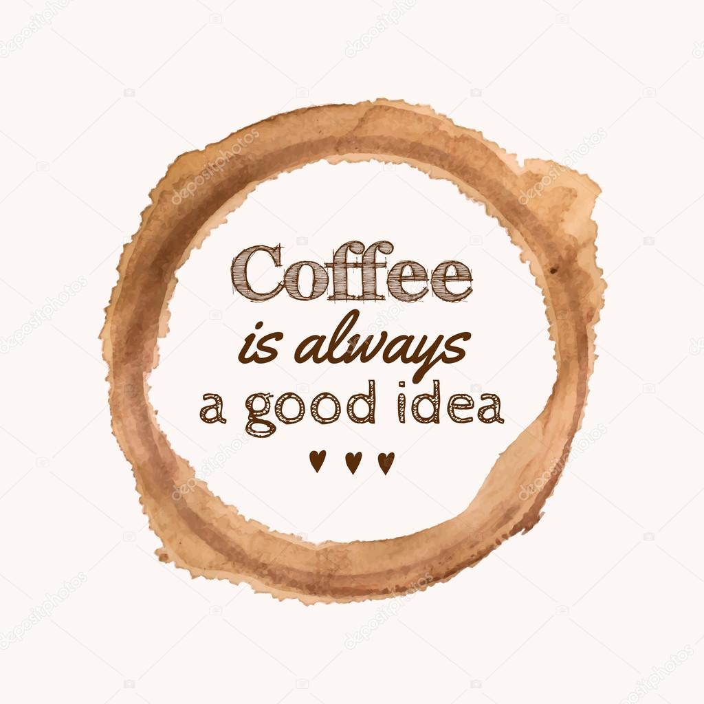 Прикольные слова к подарку кофе