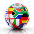 Stock Photo: Ball Flags