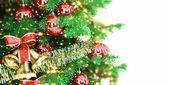 Hediye ile noel ağacı — Stok fotoğraf
